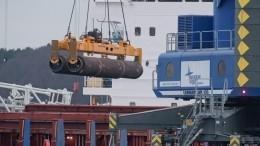 Укладка труб «Северного потока— 2» началась вводах Дании