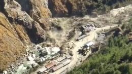 Свыше 150 человек пропали без вести при сходе ледника насевере Индии