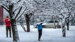 Морозы до30 градусов надвигаются наМоскву иПодмосковье