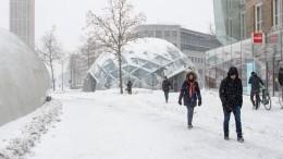 Разбушевавшийся вЕвропе «Тристан» стал самым снежным за20 лет