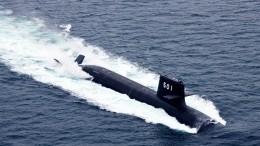 ВЯпонии подводная лодка столкнулась скоммерческим судном
