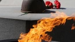 Школьник погасил Вечный огонь упамятника Неизвестному солдату вПетербурге