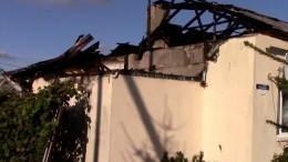 Инспекторы ДПС спасли изгорящего дома пенсионерку иеемужа-инвалида