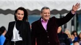 Вдова Грачевского показала нафото, как носила ребенка худрука «Ералаша»