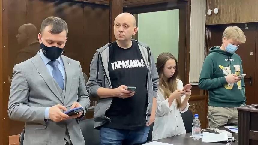 Главреду «Медиазоны» Смирнову суд сократил срок ареста до15 суток