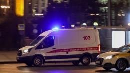 Пьяный водитель сбил двух москвичек напешеходном переходе— шокирующие кадры (18+)
