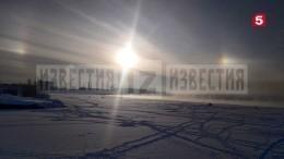 Удивительные кадры: над Ладожским озером взошли «три Солнца»