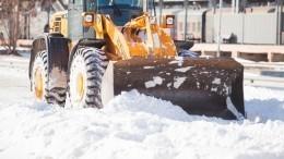 Ювелирная работа: убиравший снег тракторист вПетербурге потушил полыхающее авто