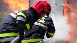 Более ста человек едва успели эвакуироваться изполыхающей школы наАлтае