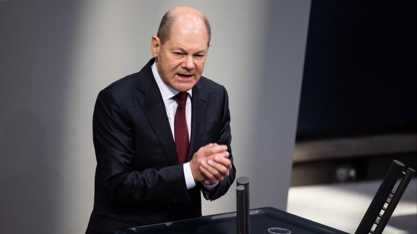 Вице-канцлера ФРГ Шольца срочно вызвали вбундестаг из-за «Северного потока— 2»