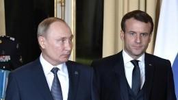 Путин предлагал президенту Франции помощь вопределении яда ванализах Навального