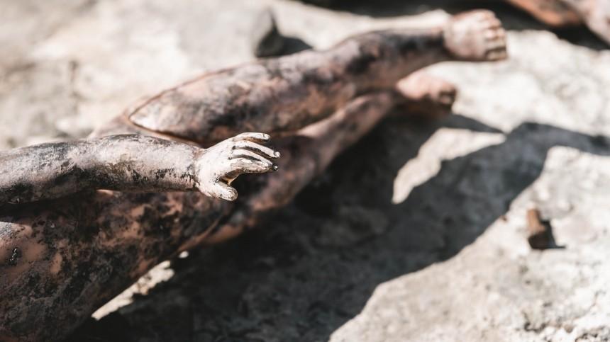 Тело младенца обнаружили намусорном полигоне вПодмосковье