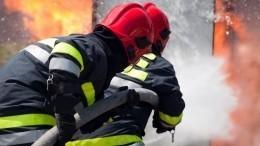 Полицейский пострадал при спасении женщины напожаре насевере Москвы