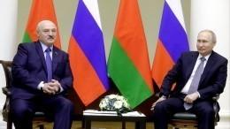 Путин иЛукашенко могут встретиться вСочи вконце февраля