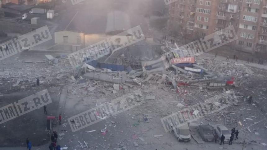 Взрыв прогремел всупермаркете воВладикавказе