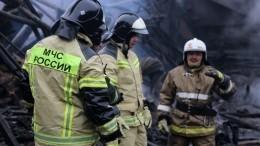 Причины пожара наскладе ГСМ вКрасноярске установит специальная комиссия