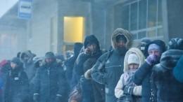 Лютые морозы и«черная метель»: зима вроссийских регионах вошла вкураж