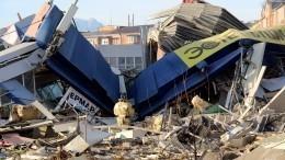 Момент взрыва всупермаркете воВладикавказе попал навидео