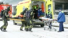 Десять человек пострадали при пожаре вмосковском хостеле