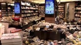 Есть угроза цунами: мощное землетрясение произошло недалеко отФукусимы вЯпонии