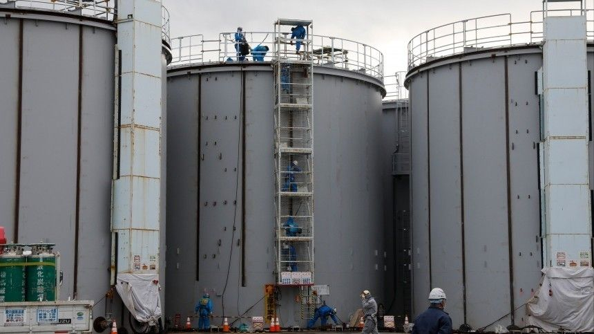 Утечку радиоактивной воды обнаружили наАЭС вФукусиме