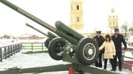 Туктамышева произвела полуденный выстрел сПетропавловской крепости