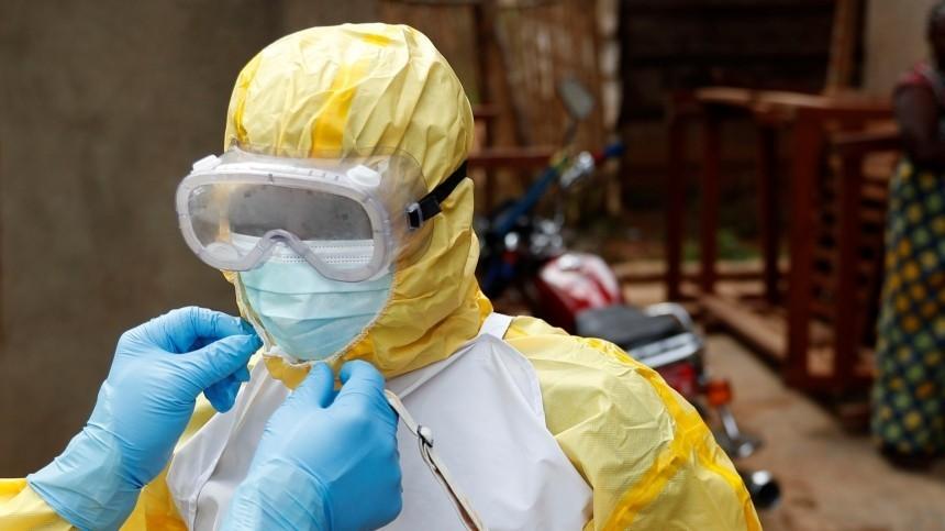 Вспышка лихорадки Эбола зафиксирована вГвинее