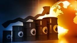 Цена нефти Brent впервые загод превысила 63 доллара