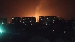 Мощный взрыв газа вЛуганске привел кобразованию 20-метрового огненного факела— видео