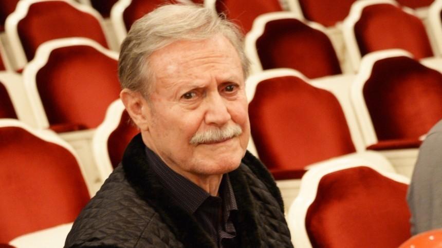 Заболевший коронавирусом 85-летний Юрий Соломин госпитализирован