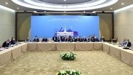 ВСочи стартовали трехсторонние консультации РФ, Турции иИрана поСирии