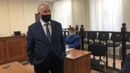 Суд огласил приговор экс-губернатору Хабаровского края Виктору Ишаеву