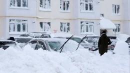 Сахалин превратился вогромный сугроб— репортаж изэпицентра снежной бури