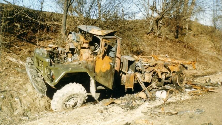 Установлены подозреваемые внападении наколонну пермского ОМОНа в2000 году