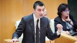 Премьер Грузии объявил освоей отставке