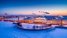 Минувшая ночь вПетербурге стала самой холодной затекущую зиму