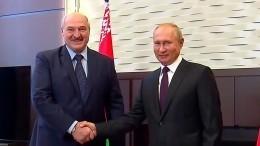Лукашенко рассказал, когда встретится сПутиным