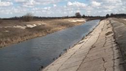 Аксенов ответил напланы Украины перекрыть воду для Крыма