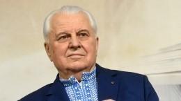 Кравчук оправдался заобщение сглавой ДНР вэфире российского телеканала