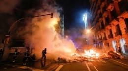 Огненные костры ибаррикады: Беспорядки вИспании неутихают третий день
