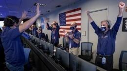 ВКремле назвали «важной для человечества» высадку наМарс аппарата Perseverance