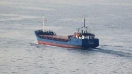 Спасатели готовят кэвакуации экипаж судна вКерченском проливе из-за отравления