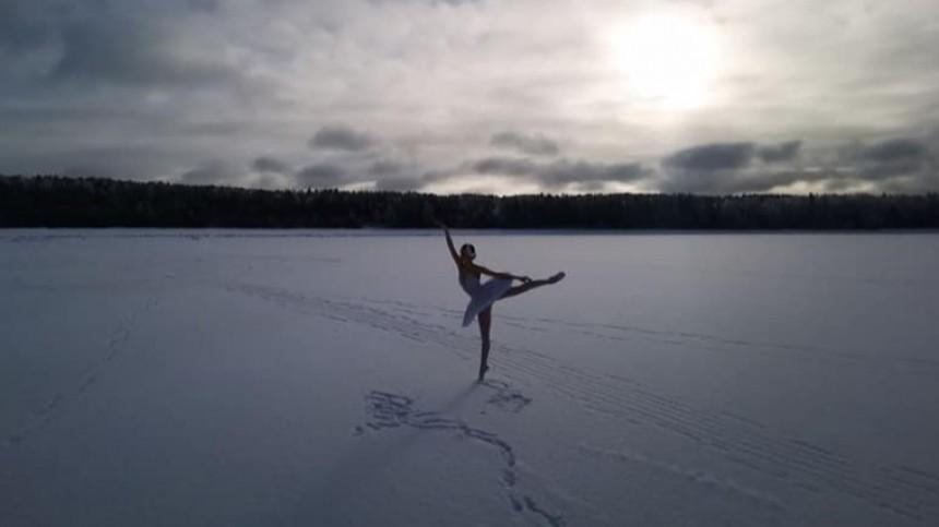 Невероятное зрелище: балерина Мариинки станцевала нальду Финского залива