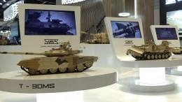 Россия впервые показала танк «Армата» зарубежом навыставке вОАЭ