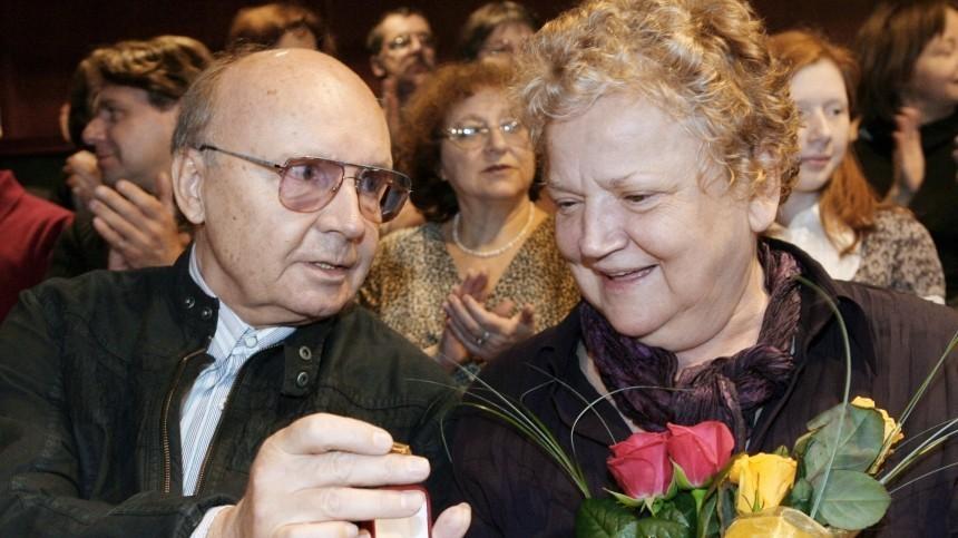 Вдова Андрея Мягкова объяснила свое отсутствие наего похоронах