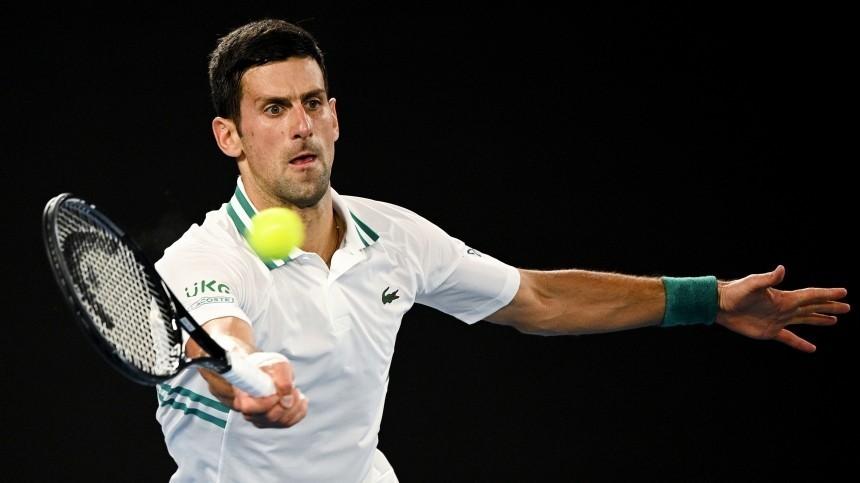 Даниил Медведев уступил Джоковичу вфинале Australian Open