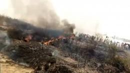 Военный самолет King Air 350 потерпел крушение вНигерии