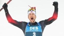 Российские биатлонисты несмогли завоевать медали вмасс-старте наЧМ