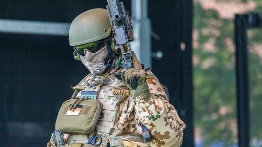 ВСША немецких спецназовцев приняли затеррористов
