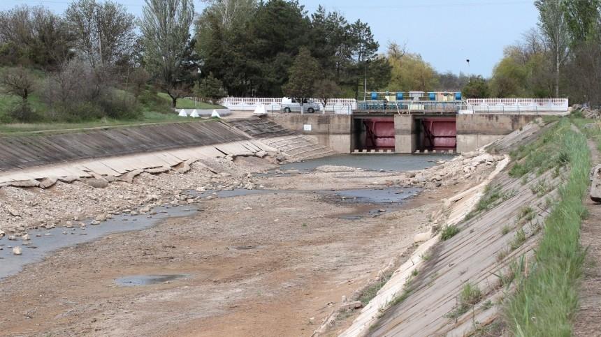 ВГермании назвали водную блокаду Крыма «средневековыми методами осады»